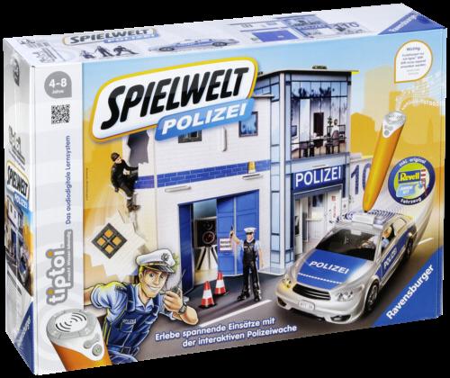 Ravensburger tiptoi Spielwelt Polizei (ohne Stift)