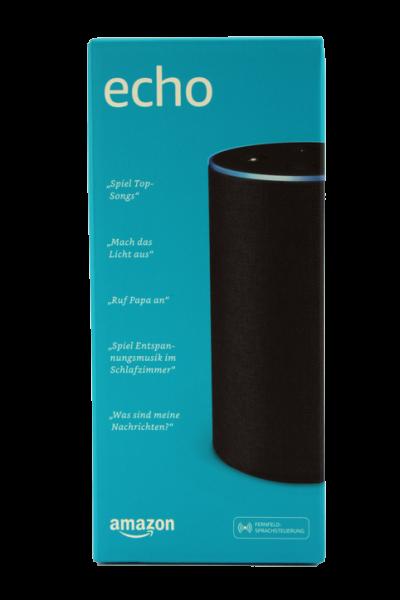 Amazon Echo (2.Generation), Anthrazit Stoff