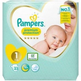 Pampers Premium Protection New Baby Gr.1 23er