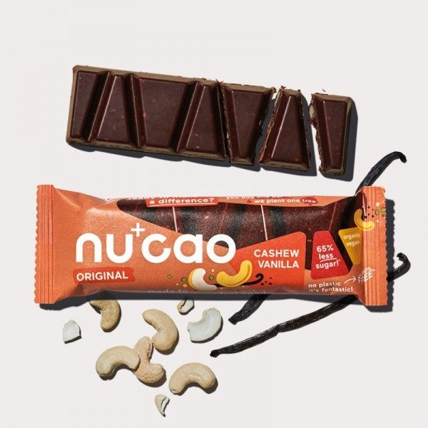 nucao - Cashew Vanilla - Riegel 40g