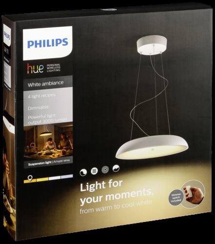 Philips Hue Amaze LED Pendelleuchte weiß