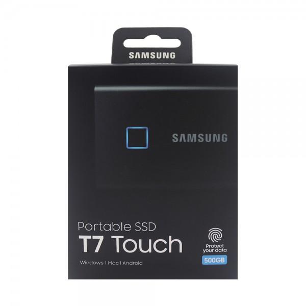 Samsung externe SSD Portable T7 Touch MU-PC500K/WW