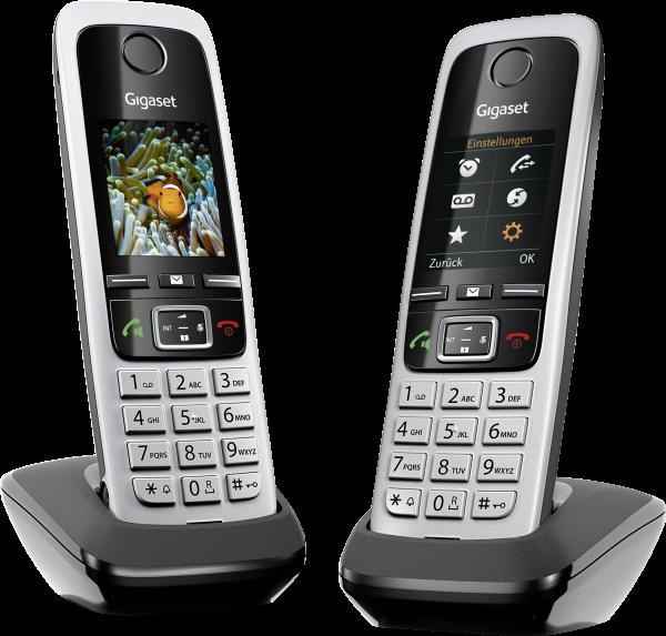 Gigaset C430HX Duo schwarz