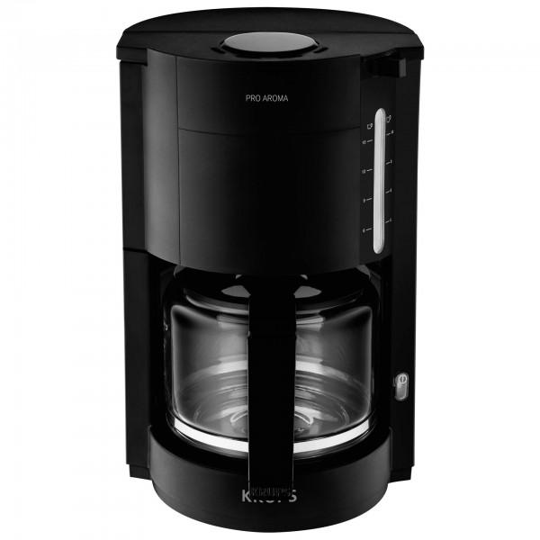 Krups ProAroma F 309 08 Glas- Kaffeeautomat schwarz