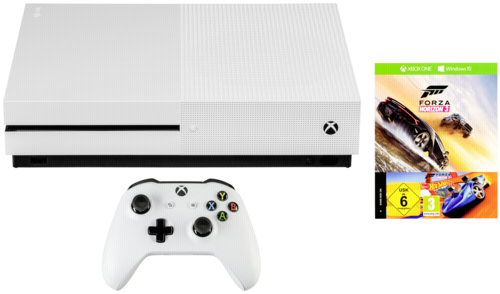Microsoft Xbox One S 500GB inkl. Forza Horizon 3 Hot Wheels