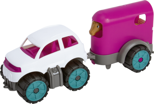 BIG Power Worker Mini Ponytransporter-Set