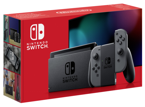 Nintendo Switch Grau (neues Modell 2019)