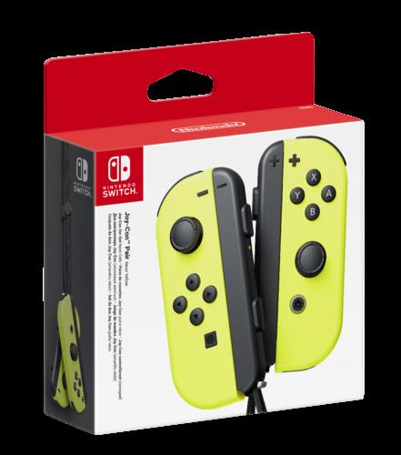 Nintendo Joy-Con 2er-Set Neon-Gelb