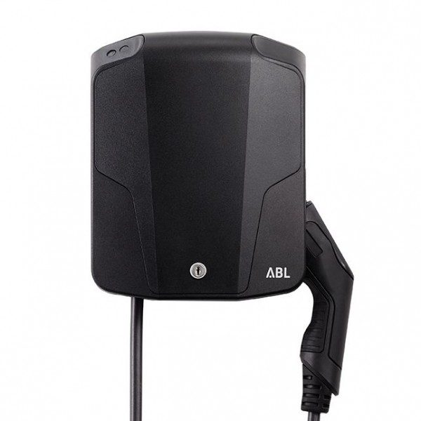 ABL Wallbox eMH1 Basic 1W1108 mit Kabel (11kW, inkl. 6m Kabel Typ2)