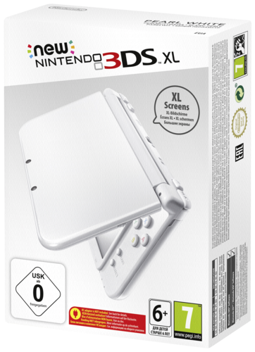 New Nintendo 3DS XL in Weiß