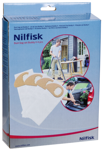 Nilfisk Staubbeutel Kit für Buddy II