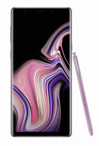 Samsung Galaxy Note9 lavender purple