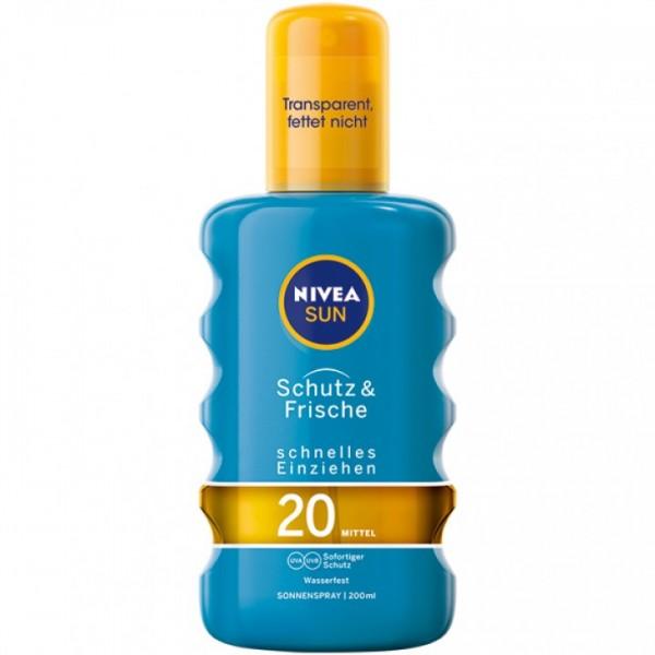Nivea Sun Protect&Refresh Spray 200ml LSF20