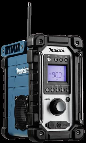 Makita DMR 107 blau Baustellenradio