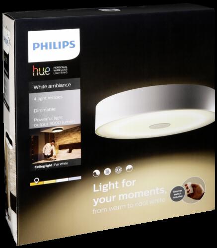 Philips Hue Fair LED Deckenleuchte weiß