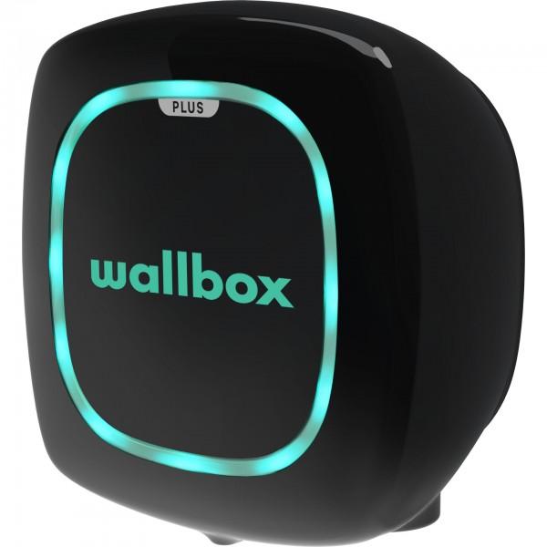Wallbox Pulsar Plus schwarz 7,4kW, Type 2, 5m Kabel OCPP
