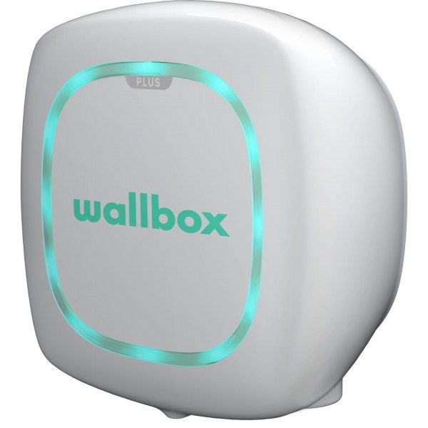 Wallbox Pulsar Plus weiss 22kW, Type 2, 5m Kabel OCPP