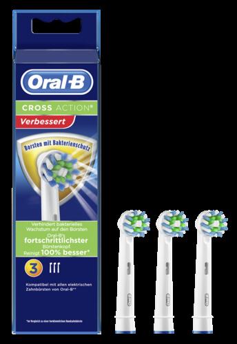 Braun Oral-B Aufsteckbürsten Cross Action 3er Bakterienschutz