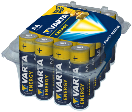 1x24 Varta Energy Mignon AA LR 06 Aktionsbox