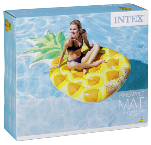 Intex Luftmatratze Ananas aufblasbar
