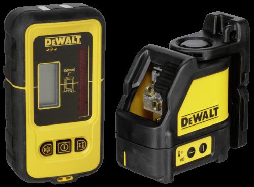 DeWalt DW088KD-XJ Kreuzlinienlaser mit Detektor