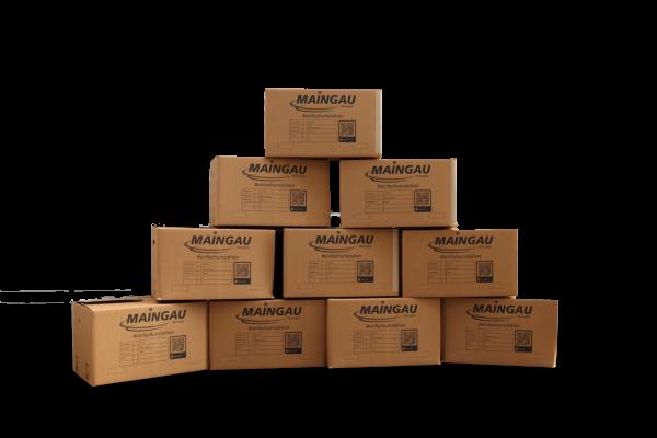 MAINGAU Umzugskarton - 10 Stück