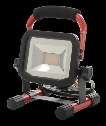 Luceco LED Baustrahler Slim Worklight mit Akku 10 W