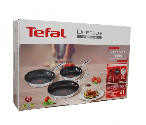 Tefal DUETTO+ Plus Set 20/24/28cm G718S3