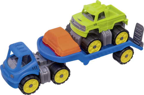 BIG Power Worker Mini Monstertruck-Set
