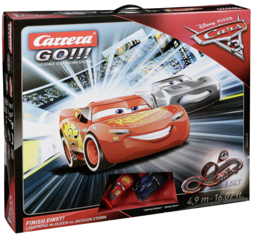 Carrera GO!!! Disney/Pixar Cars 3 - Finish First! 62418