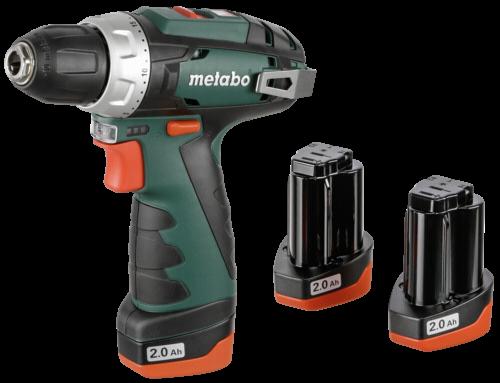 Metabo PowerMaxx BS Basic Set Akku-Bohrschrauber