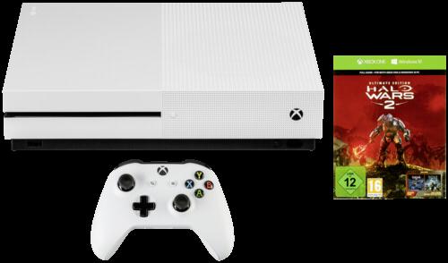 Microsoft Xbox One S 1TB inkl. Halo Wars 2 USK12