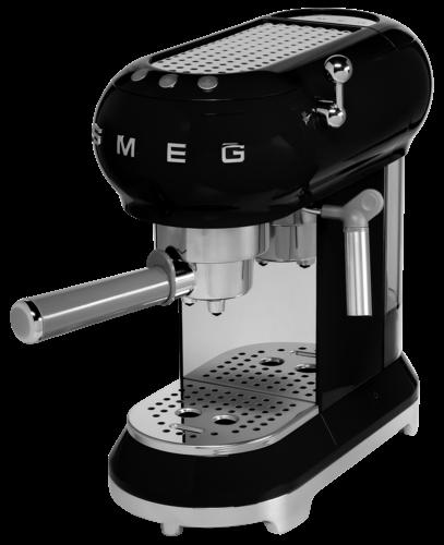 SMEG Espresso-Kaffeemaschine ECF01 schwarz