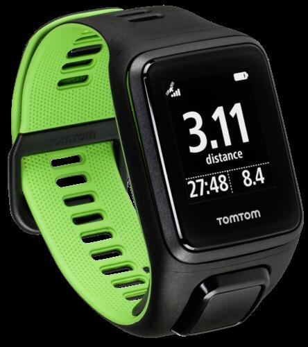 TomTom Runner 3 schwarz/grün