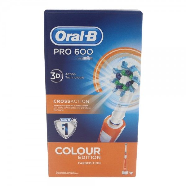 Braun Oral-B Pro 600 Cross Action Orange