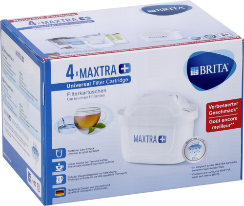Brita Maxtra+ Pack 4
