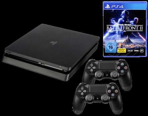 Sony Playstation 4 Slim 1TB inkl. Star Wars Battlefront 2