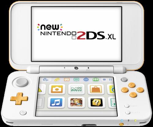 New Nintendo 2DS XL weiß orange