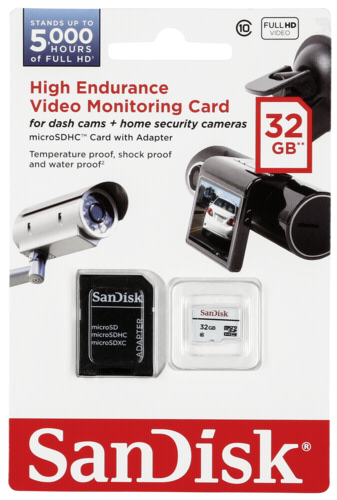 SanDisk High End. microSDHC 32GB Video Monitor. SDSDQQ-032G-G46A