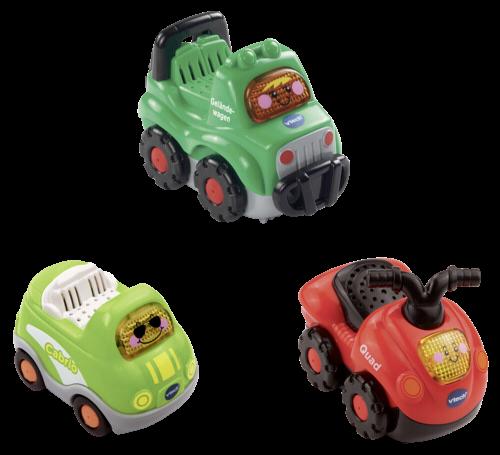 VTech Tut Tut Baby Flitzer Set 9 (Quad, Geländewagen, Cabrio)