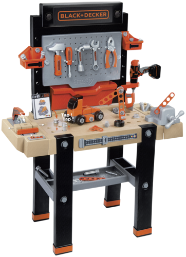 Smoby Black & Decker Werkbank Super Center