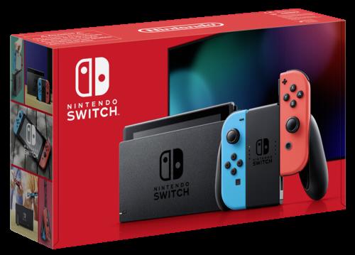 Nintendo Switch Neon-Rot / Neon-Blau (neues Modell 2019)