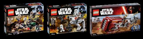 LEGO Star Wars Vorteilspack 2 75164 + 75165 + 75099