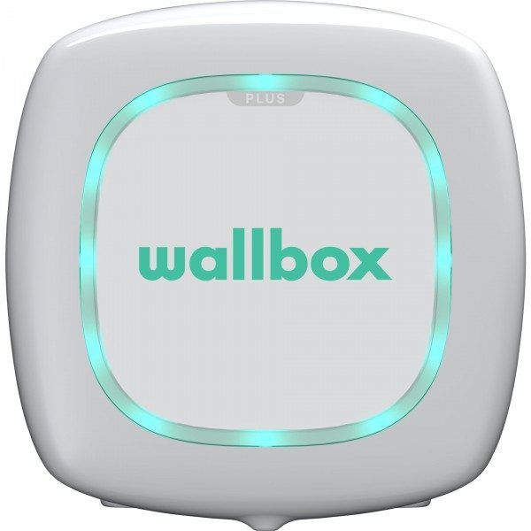 Wallbox Pulsar Plus weiss 11kW, Type 2, 5m Kabel OCPP