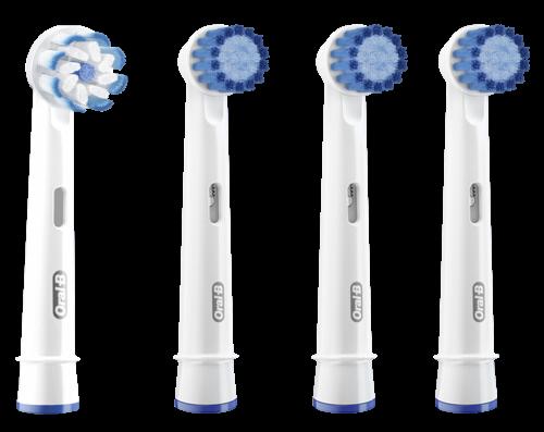 Braun Oral-B Aufsteckbürsten Sensitive 4er