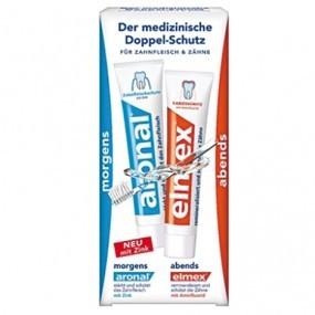 Elmex+Aronal Zahncreme 75ml 2er Pack