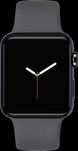 Apple Watch 3 GPS 42mm SpaceGrey Alu Case Grey Sport Band