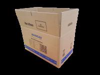 MAINGAU Energie Umzugskarton - 10 Stück - braun