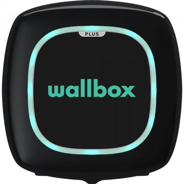 Wallbox Pulsar Plus schwarz 22kW, Type 2, 7m Kabel OCPP