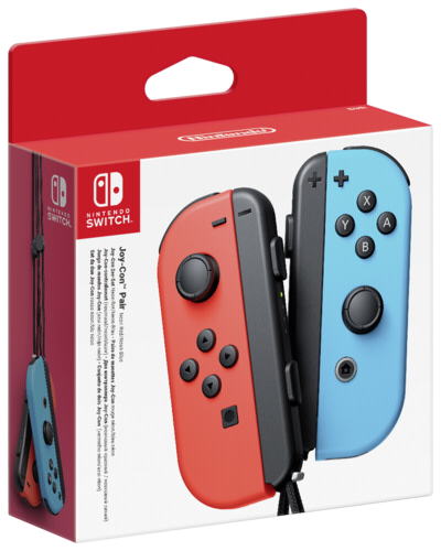 Nintendo Switch Joy-Con 2er Set Neon-Rot / Neon-Blau